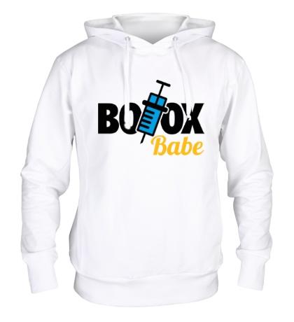 Толстовка с капюшоном Botox Babe