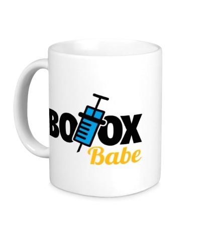 Керамическая кружка Botox Babe
