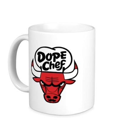 Керамическая кружка Chicago Dope Chef