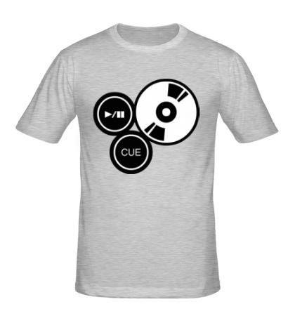 Мужская футболка DJ Station