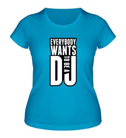 Женская футболка Everybody DeeJay