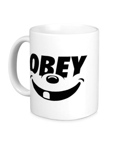 Керамическая кружка Funny Obey