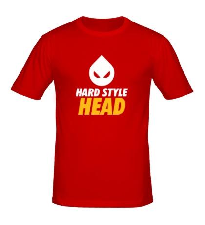 Мужская футболка Hard Style Head
