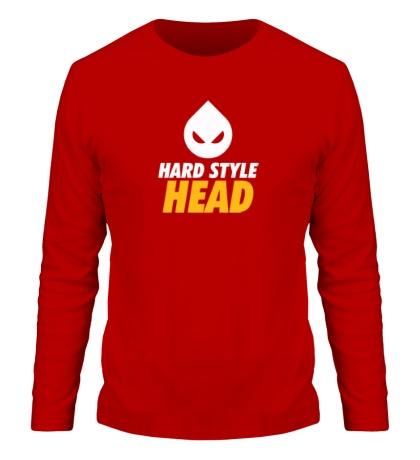 Мужской лонгслив Hard Style Head