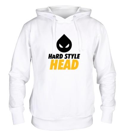 Толстовка с капюшоном Hard Style Head