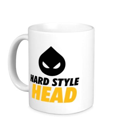 Керамическая кружка Hard Style Head
