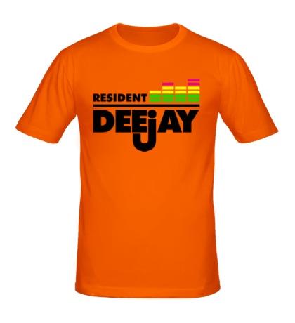 Мужская футболка Resident DeeJay