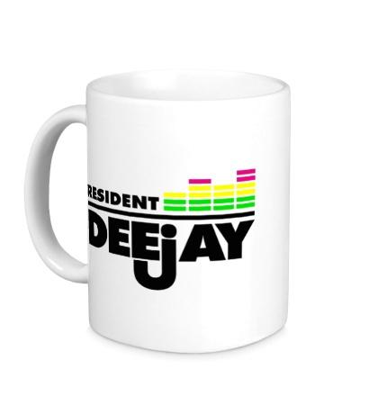 Керамическая кружка Resident DeeJay