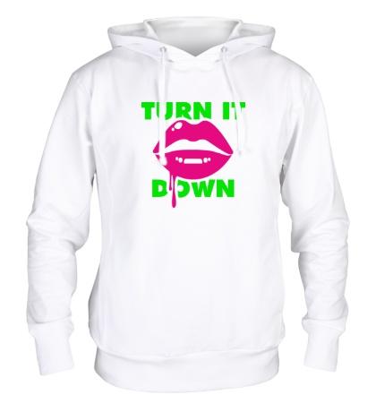 Толстовка с капюшоном Turn It Down