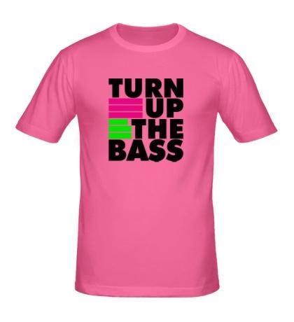Мужская футболка Turn Up The Bass