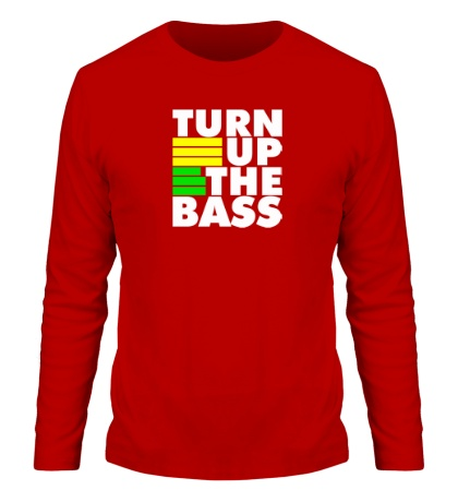 Мужской лонгслив Turn Up The Bass
