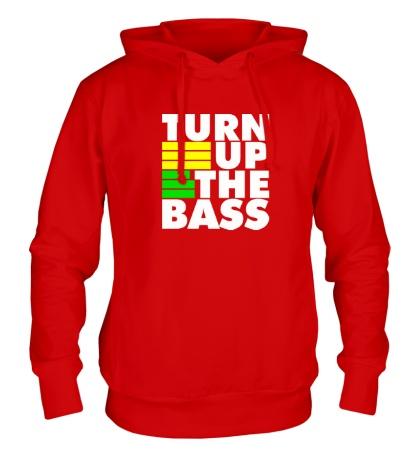 Толстовка с капюшоном Turn Up The Bass