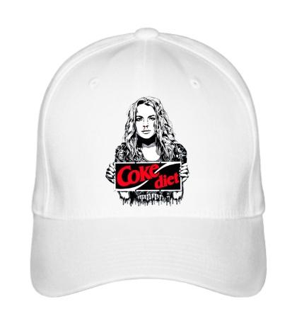 Бейсболка Lindsay Lohan Coke diet