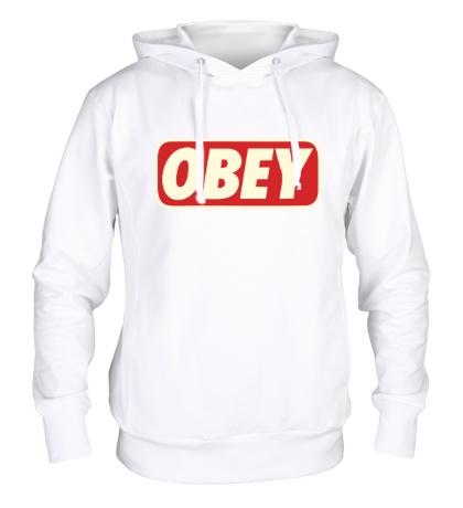 Толстовка с капюшоном Obey Glow