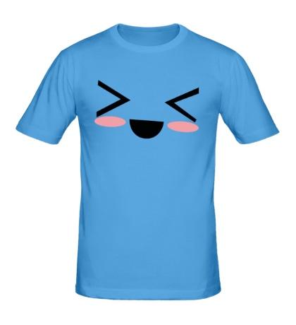 Мужская футболка Kawaii Face