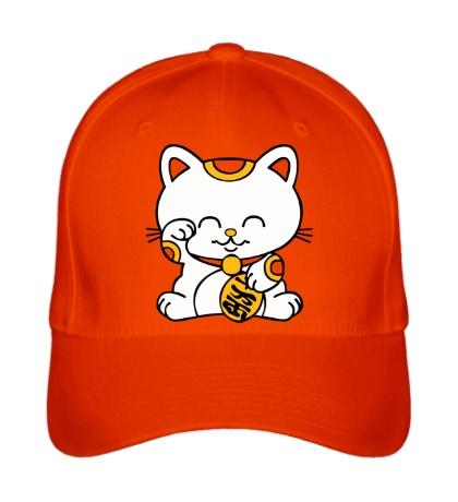 Бейсболка Манэки-нэко кошка зовущие счастье