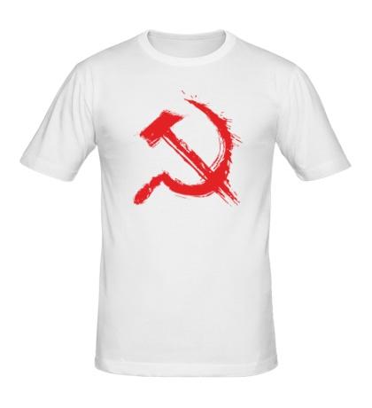 Мужская футболка Кровавый серп и молот