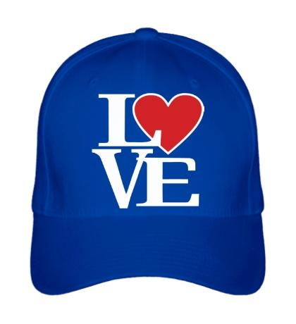 Бейсболка Love