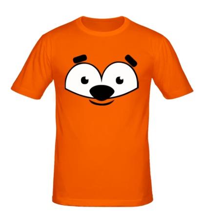Мужская футболка Морда мишки
