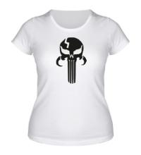 Женская футболка Mandalorian Punisher