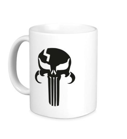 Керамическая кружка Mandalorian Punisher