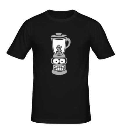 Мужская футболка Бендер-блендер