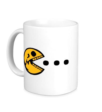 Керамическая кружка Dead Pacman