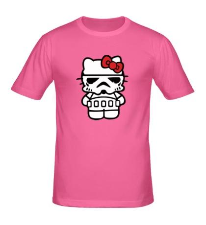 Мужская футболка Kitty storm trooper