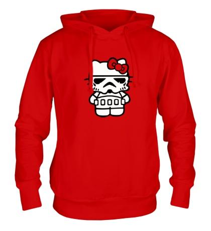Толстовка с капюшоном Kitty storm trooper