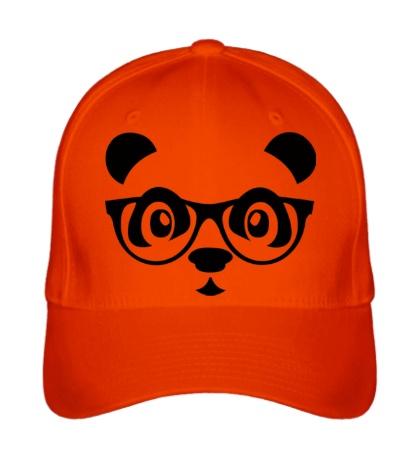 Бейсболка Мордашка панды в очках