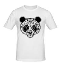 Мужская футболка Расписная панда