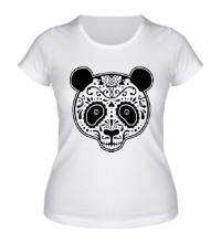 Женская футболка Расписная панда