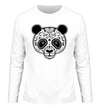 Мужской лонгслив Расписная панда