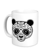 Керамическая кружка Расписная панда