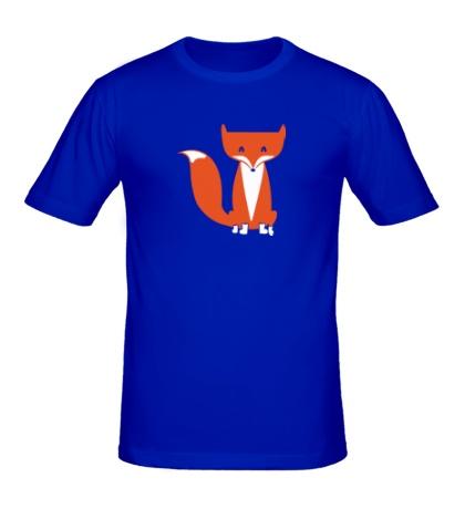 Мужская футболка Хитрый лисенок