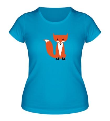 Женская футболка Хитрый лисенок