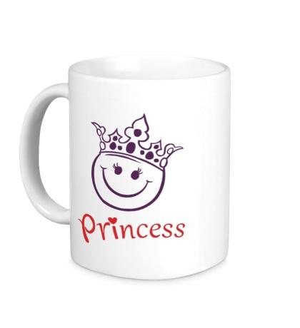 Керамическая кружка Принцесса