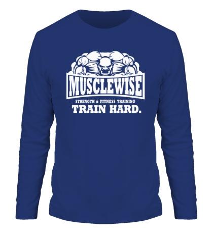 Мужской лонгслив Musclewise Train Hard