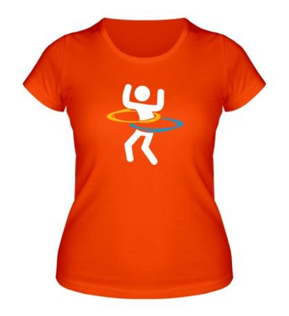 Женская футболка Portal Unit