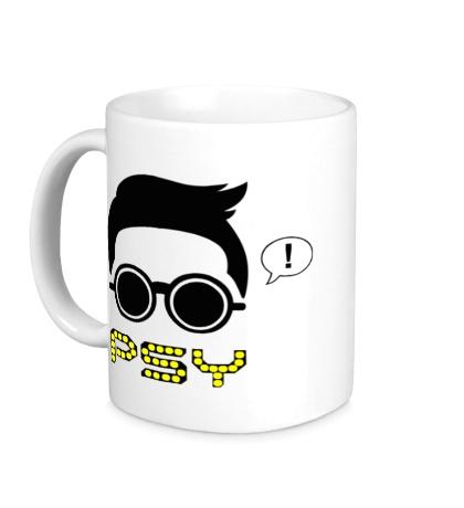 Керамическая кружка Psy
