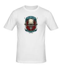 Мужская футболка Dubstep Skull
