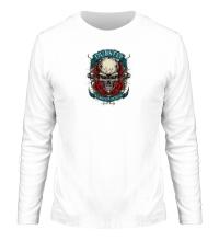 Мужской лонгслив Dubstep Skull