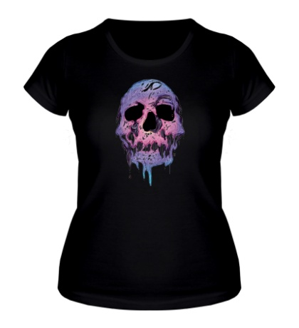 Женская футболка «Череп»
