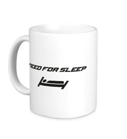Керамическая кружка Need for sleep