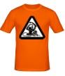 Мужская футболка «Обезьяна с гранатой» - Фото 1
