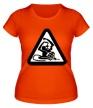 Женская футболка «Обезьяна с гранатой» - Фото 1