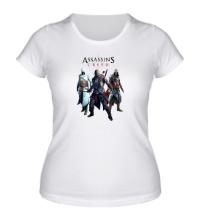 Женская футболка Assassins Creed Hunters