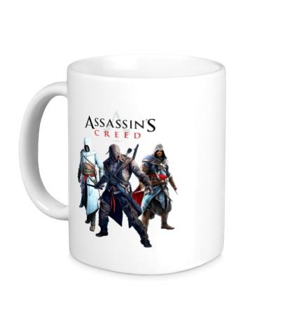 Керамическая кружка «Assassins Creed Hunters»