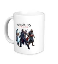 Керамическая кружка Assassins Creed Hunters