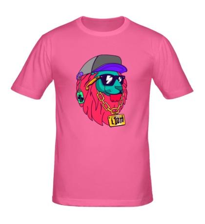 Мужская футболка «Lion SWAG»